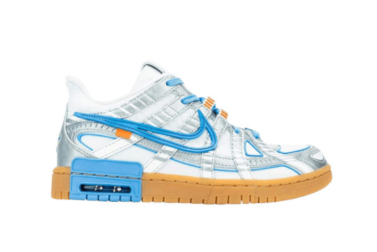 Off-White x Nike Air Rubber Dunk White University Blue cu6015-100