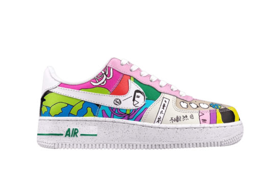 Ruohan Wang x Nike Air Force 1 Low Flyleather cz3990-900