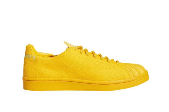 Pharrell Williams adidas Superstar Human Race Pack Yellow s42930