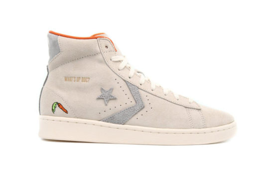 Bugs Bunny Converse Pro Leather High Top Egret 169223c