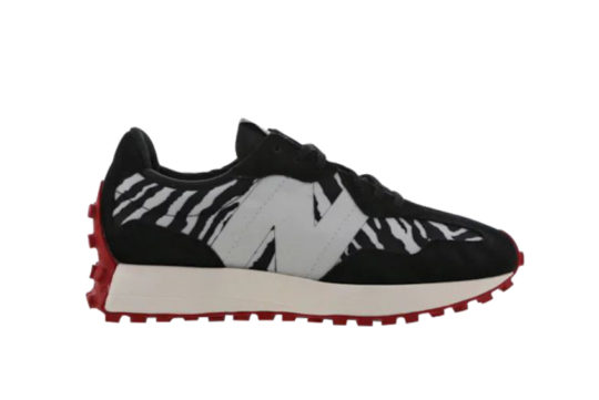 New Balance 327 Black Red ws327br1