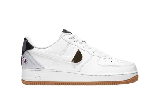 Nike Air Force 1 NBA Pure Platinum ct2298-100