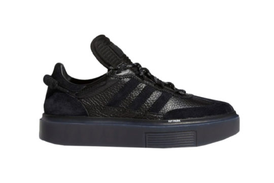 Beyonce Ivy Park x adidas Sleek Super 72 Black fz4386