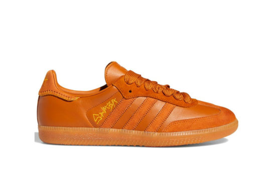 Jonah Hill x adidas Samba Orange fx1471