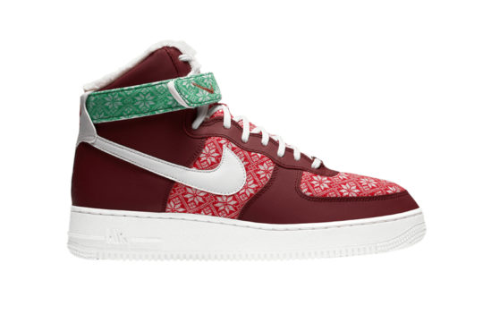 Nike Air Force 1 High Christmas 2020 dc1620-600