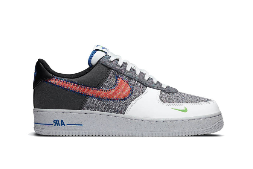 Nike Air Force 1 Low Grey Electric Green cu5625-122