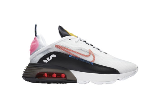 Nike Air Max 2090 White Black Pink dc4464-100