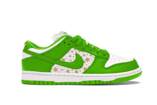 Supreme x Nike SB Dunk Low « Mean Green » dh3228-101