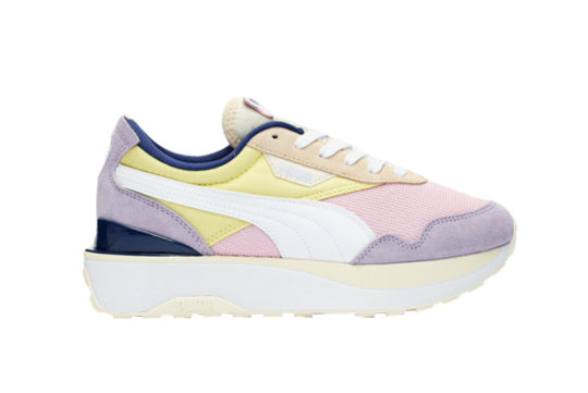 Puma Cruise Rider Pink Yellow 375072-01
