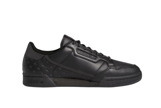 Pharrell Williams adidas Continental 80 Black Ambition Pack Black gy4979