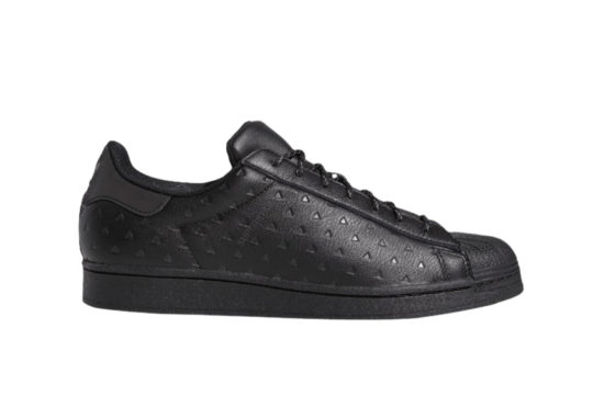 Pharrell Williams adidas Superstar Black Ambition Pack Black gy4981