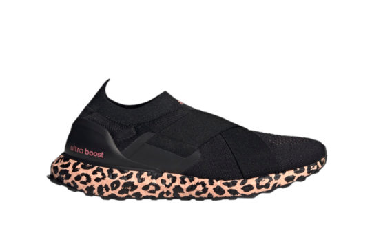 adidas Ultra Boost Slip-On DNA Core Black Glow Pink Womens gz9896