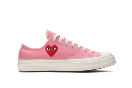Comme des Garcons Play Converse Chuck Taylor All Star 70 Low Pink 168304c