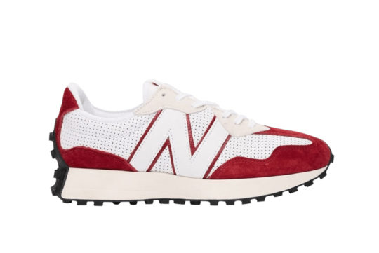 New Balance 327 Perforated Pack White Red ms327pe