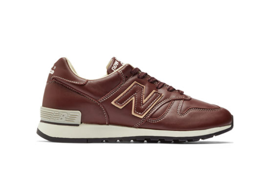 New Balance 670 Made in England Leather Brown m670brn