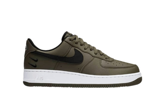 Nike Air Force 1 Double Swoosh Olive Green ct2300 300