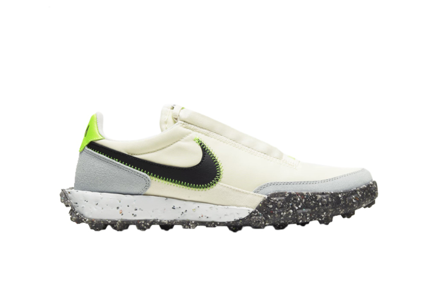 Nike Waffle Racer Crater Pale Ivory Black Womens ct1983-102