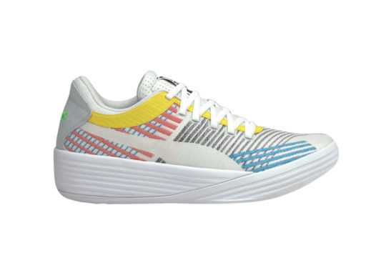 Puma Clyde All Pro White Yellow 194039-01