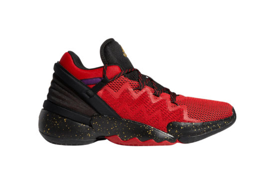 adidas DON Issue 2 Scarlet Core Black fx6490