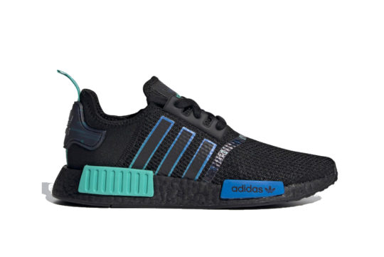 adidas NMD R1 Core Black Blue h05149