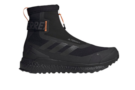 adidas Terrex Free Hiker Cold RDY Core Black Orange fu7217