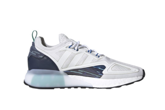 adidas ZX 2K Boost White Collegiate Navy h05148