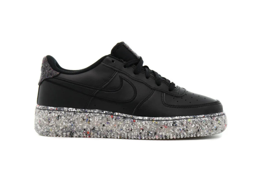 Nike Air Force 1 Low GS «Crater» Black db2813-001