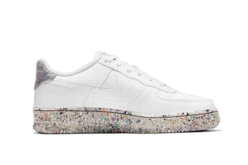 Nike Air Force 1 Low GS «Crater» White db2813-100