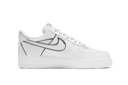 Nike Air Force 1 Metal Frame White dh4098-100