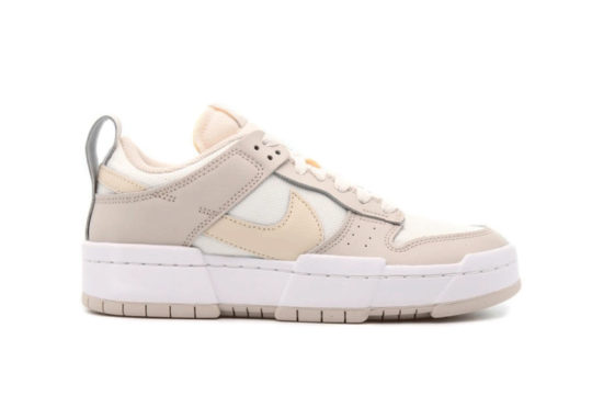 Nike Dunk Low Disrupt Sail Pearl White Womens ck6654-103