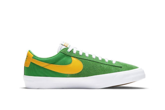 "Nike SB Blazer Low GT ""Oregon"" dc7695-300"