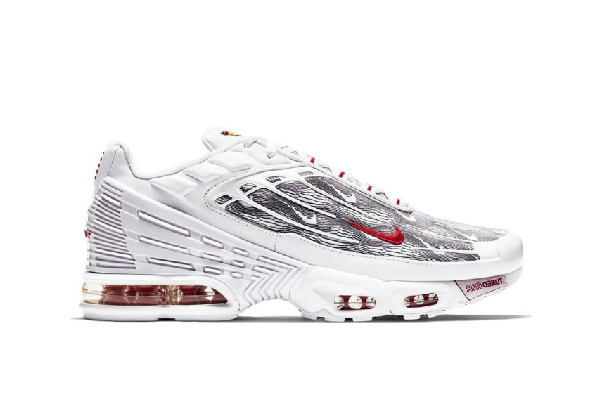 Nike TN Air Max Plus 3 Topography Pack White Red : Release date ...