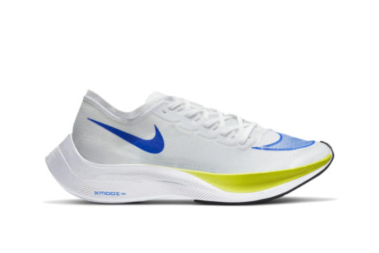 Nike ZoomX Vaporfly NEXT% White Cyber Blue ao4568-103