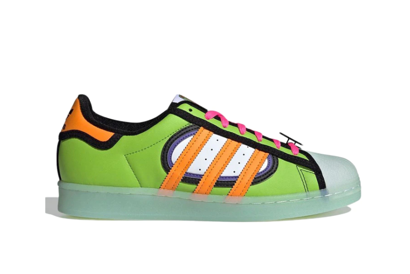 The Simpsons x adidas Superstar Squishee