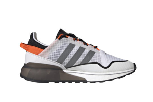 adidas ZX 2K Boost Pure Cloud White Grey h06568