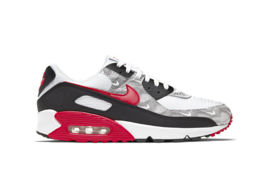 Nike Air Max 90 Topography Red dj0639-100