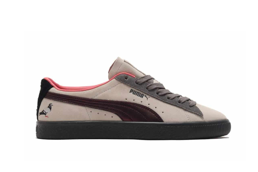 atmos x Staple Pigeon x Puma Suede «Pigeon And Crow» 381160-01