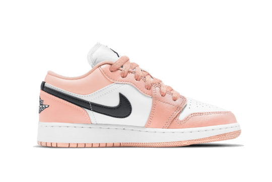 "Air Jordan 1 Low GS ""Light Arctic Pink"""