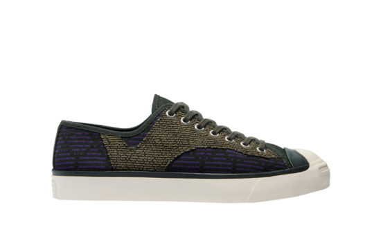 Converse Jack Purcell Rally Low Patchwork Deep Lichen Green