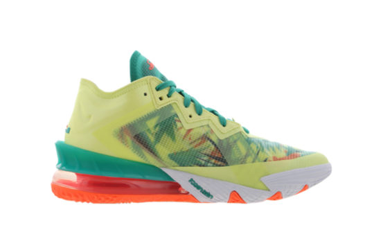 Nike Lebron 18 Low Lime Bright Mango