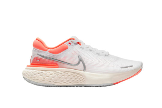 Nike ZoomX Invincible Run Flyknit White Pure Platinum Womens ct2229-101