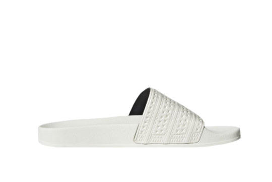 adidas Adilette Slides Chalk White gz0519