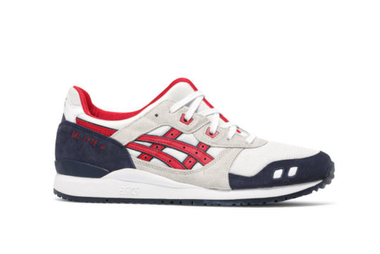 ASICS Gel-Lyte III White Classic Red 1203a114-101