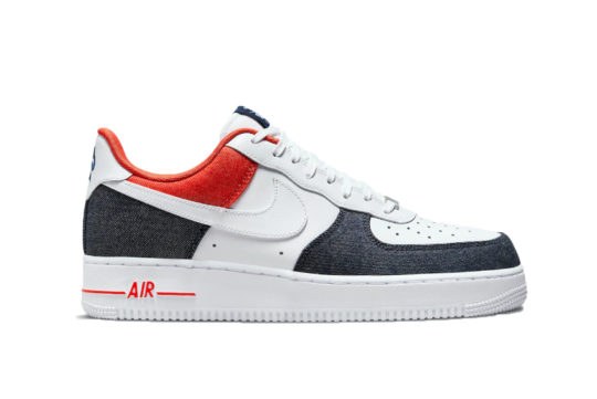 "Nike Air Force 1 Low ""USA Denim"" dj5174-100"