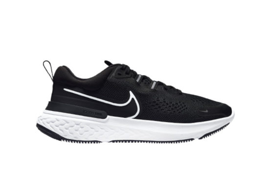 Nike React Miler 2 Black White Womens