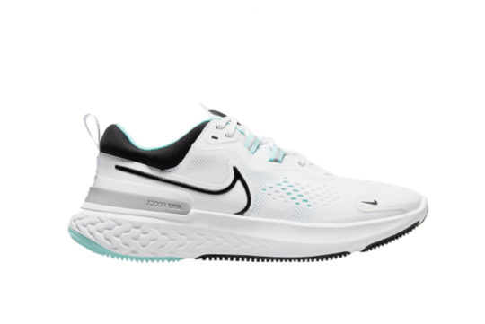 Nike React Miler 2 White Dynamic Turquoise Womens