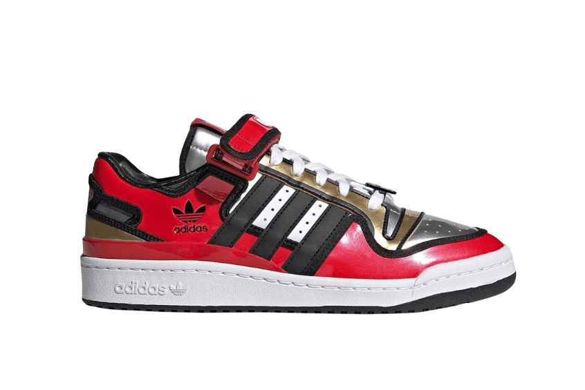 The Simpsons x adidas Forum Low «Duff Beer» h05801