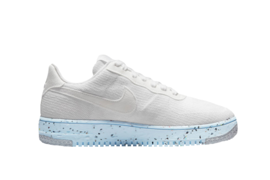 Nike Air Force 1 Crater Flyknit White Womens dc7273-100