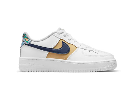 Nike Air Force 1 Low « White Blue Void »