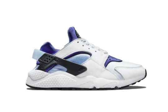 Nike Air Huarache White Purple